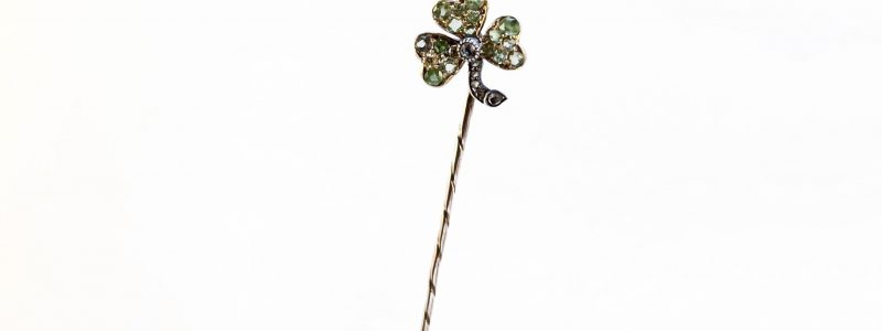 Demantoid shamrock