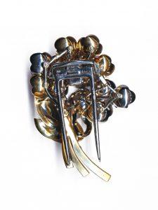 Cartier clip brooch retro back www.preciousflora.com