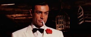 James Bond Carnation Boutonnière