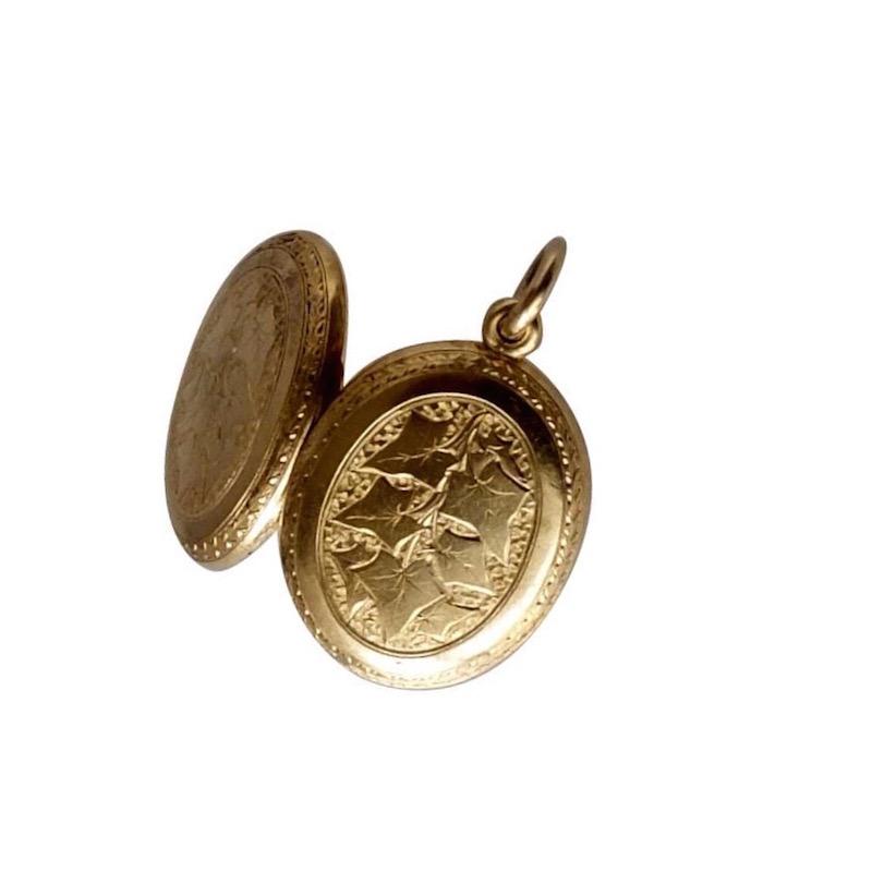 Victorian Ivy locket