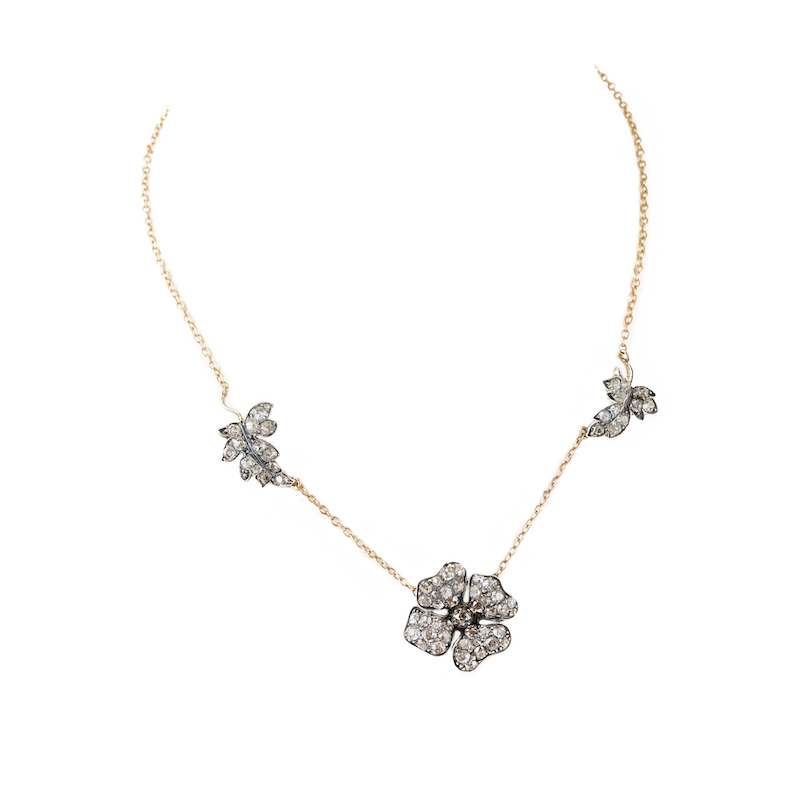 Dogwood necklace Precious Flora