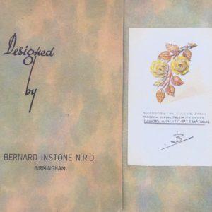 Bernhard Instone design