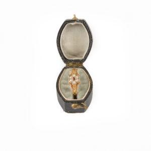Antique anemone ring