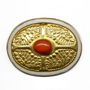1920's · Art deco · Berry · Brooch · Celtic · Coral · Scandinavian