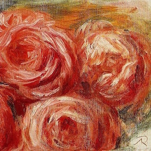 three roses detail Renoir