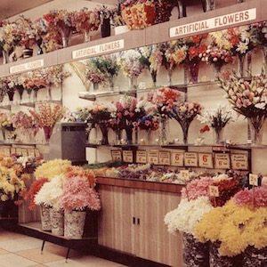 1950's flowerarrangement