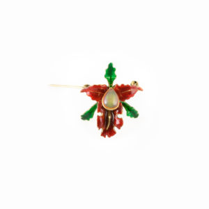 Enamelled orchid