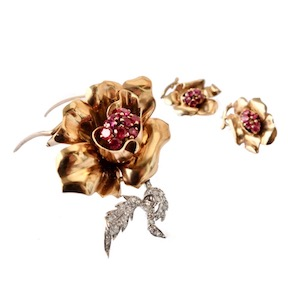 Garrard retro floral set